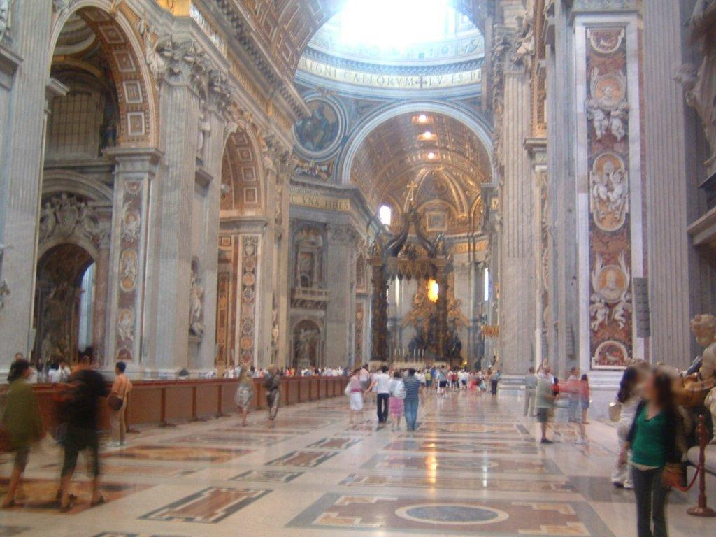 ローマ観光 バチカン市国のまわりかた