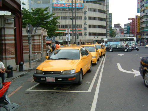 台湾のタクシー利用・活用方法 注意点