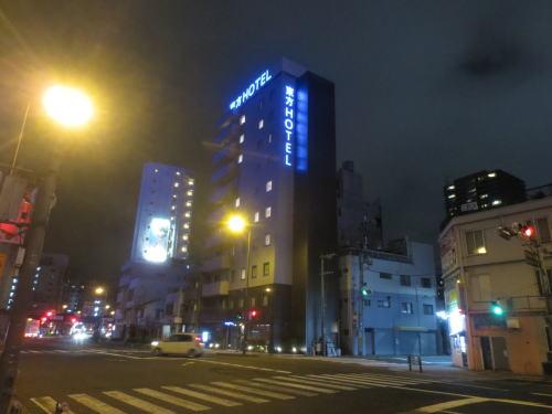 大阪旅行記2(新世界徒歩圏内 東方ホテルに泊まる)