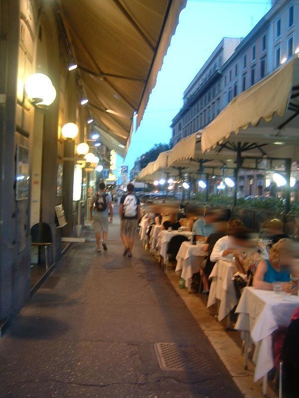 イタリア旅行記(ローマ テルミニ駅周辺を歩く)