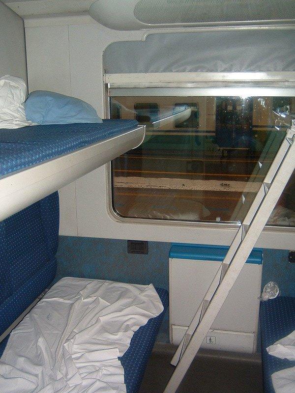 イタリア旅行記(ローマテルミニから夜行列車でミラノへ向かう)