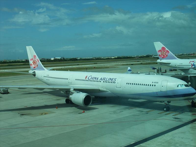 台北へは中華航空が安いことも!?